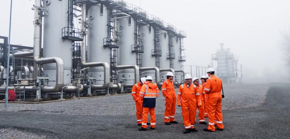 Основные капиталы на операциях добычи и хранения газа