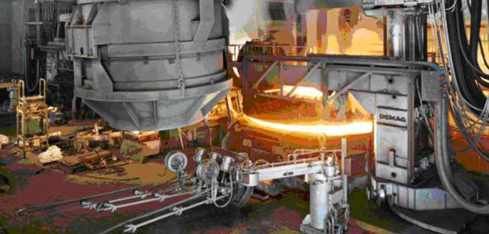 Мощность сталеплавильных печей