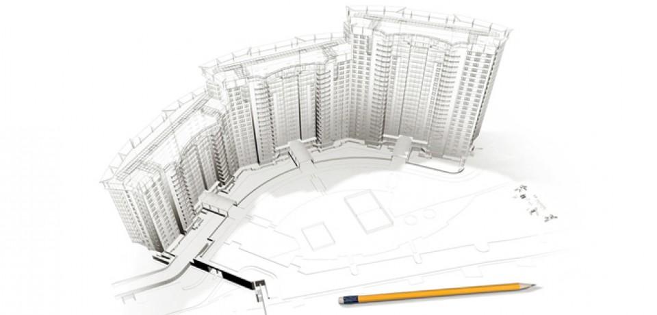 Разность останков незавершенного строительства