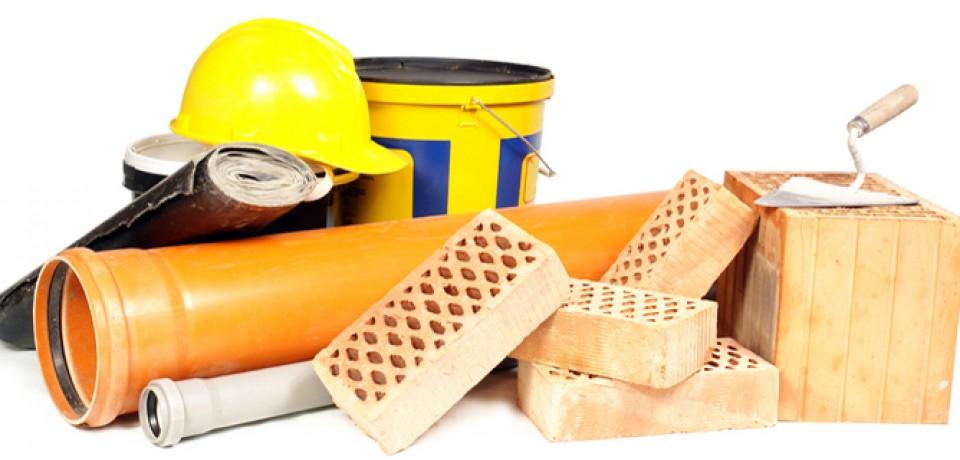 Оборудование: строительные материалы